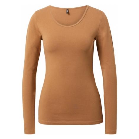 ONLY Koszulka brązowy