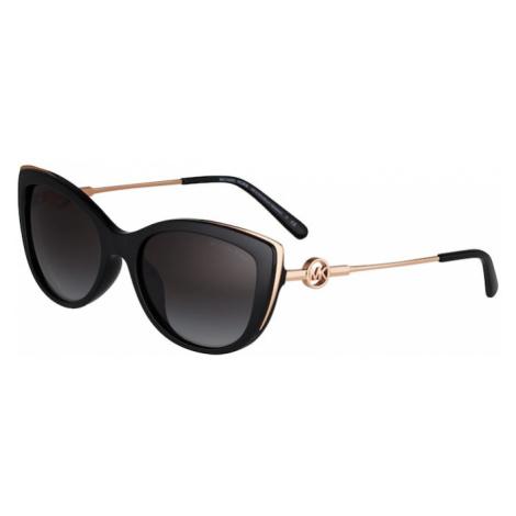 Michael Kors Okulary przeciwsłoneczne '0MK2127U' czarny / złoty