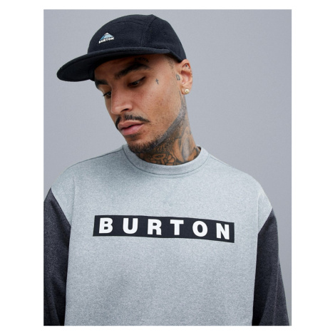 Burton Snowboards Oak Crew Neck in Grey
