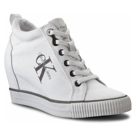 Sneakersy CALVIN KLEIN JEANS - Ritzy R3551 White