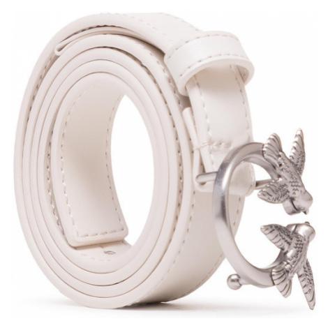 Pinko Pasek Damski Love Berry Small Simply 2 Waist Belt PE 21 PLT01 1H20WU Y75H Biały