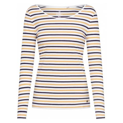 ESPRIT Koszulka 'OCS NOOS T' niebieski / żółty / biały
