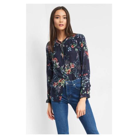 Luźna bluzka w kwiaty Orsay