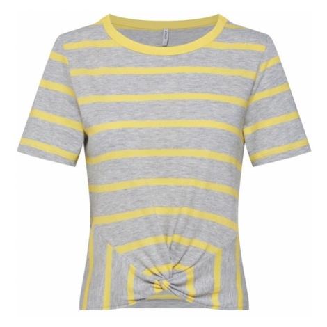 ONLY Koszulka żółty / szary