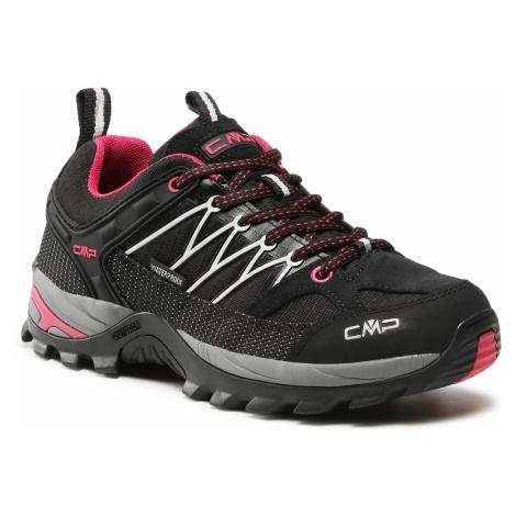 Trekkingi CMP - Rigel Low Wmn Trekking Shoes Wp 3Q54456 Nero/Glacier 61UE