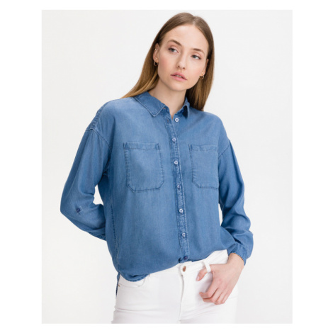 Tom Tailor Denim Koszula Niebieski