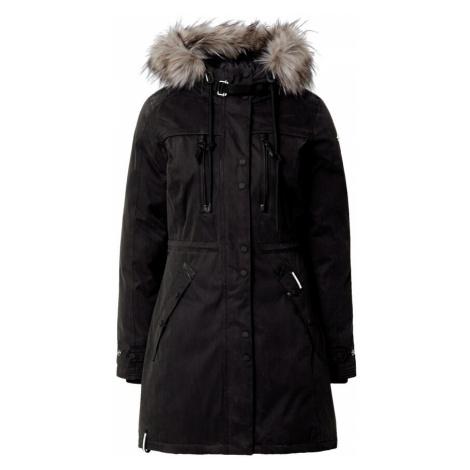 Khujo Płaszcz zimowy czarny