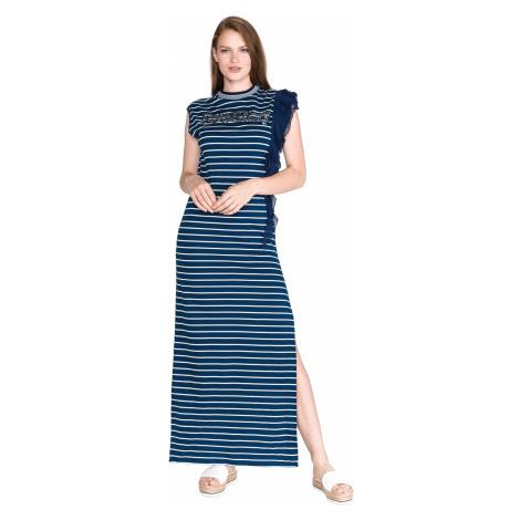 Pinko Amaranto Sukienka Niebieski