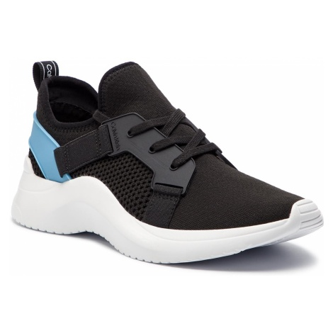 Sneakersy CALVIN KLEIN - Unni F1279 Black/Dusty Blue