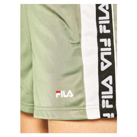 Fila Szorty sportowe Tarin 687689 Zielony Regular Fit