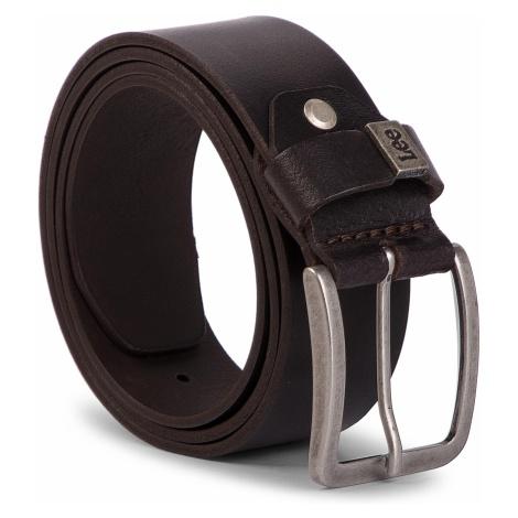 Pasek Męski LEE - Small Logo Belt LA035324 85 Dark Brown