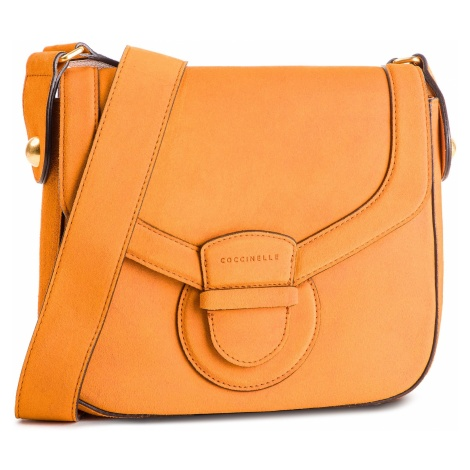 Torebka COCCINELLE - DS1 Vega Suede E1 DS1 12 01 01 Flash Orange R12