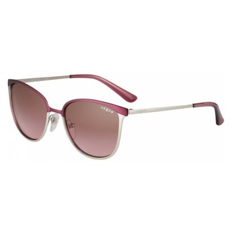 VOGUE Eyewear Okulary przeciwsłoneczne srebrny / fioletowy
