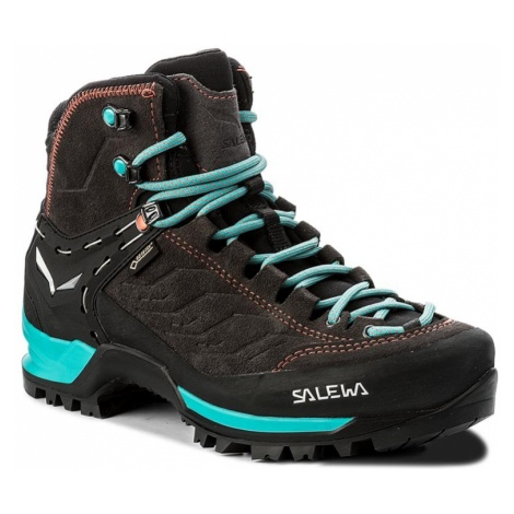 Trekkingi SALEWA - Mtn Trainer Mid Gtx GORE-TEX 63459-0674 Magnet/Viridian Green