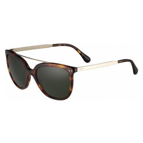 POLO RALPH LAUREN Okulary przeciwsłoneczne brązowy / zielony