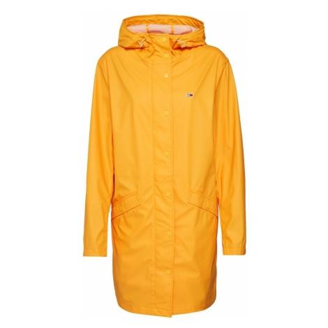 Tommy Jeans Płaszcz przejściowy 'RAIN JACKET' złoty żółty Tommy Hilfiger