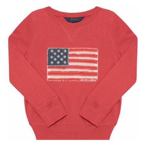 Polo Ralph Lauren Bluza French Ter Po 312785462003 Czerwony Regular Fit