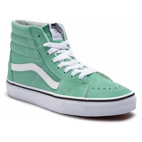 Sneakersy VANS - Sk8-Hi VN0A38GEVMX1 Neptune Green/True White