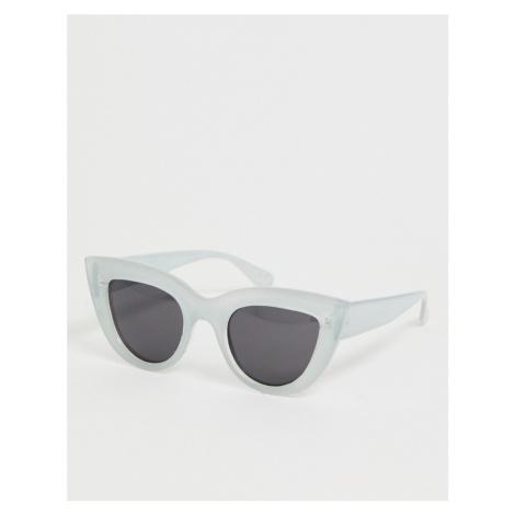 Skinnydip olive mint cat eye sunglasses