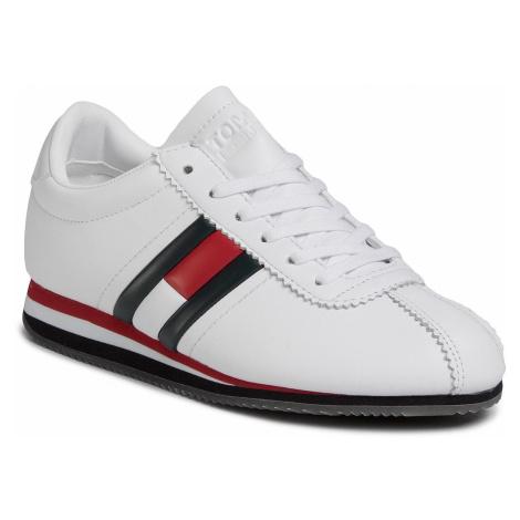 Sneakersy TOMMY JEANS - Wmns Retro Flag Sneaker EN0EN00874 Rwb 020 Tommy Hilfiger