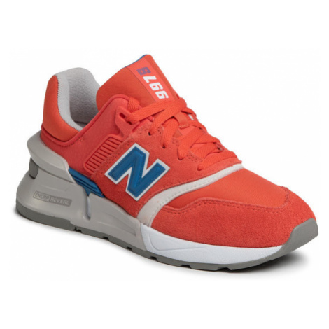 New Balance Sneakersy WS997BVD Pomarańczowy