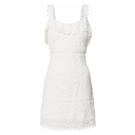 Love Triangle Suknia wieczorowa 'Candy Crush Dress' biały