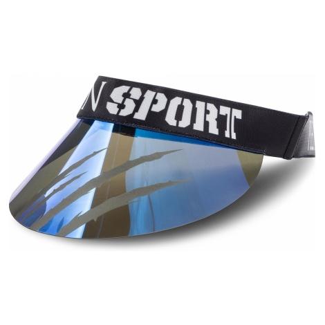 Daszek PLEIN SPORT - Visor Hat 000 MAC0396 STE003N Middle Blue 08
