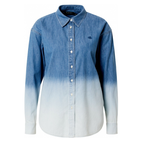 Lauren Ralph Lauren Bluzka niebieski / biały