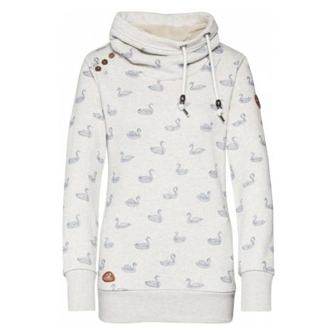 Ragwear Bluzka sportowa 'HABLARIA SWANS' jasnoniebieski / biały