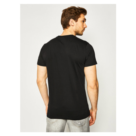 Diesel T-Shirt T-Diego 00SEFX 0GAYD Czarny Regular Fit