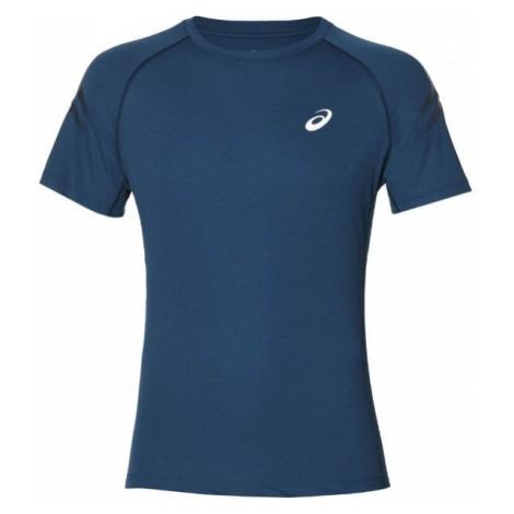 Asics SILVER ICON TOP niebieski M - Koszulka do biegania męska