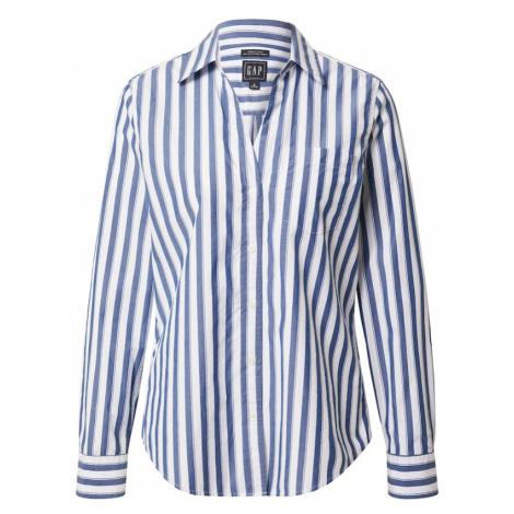 GAP Koszulka 'Perfect' biały / niebieski