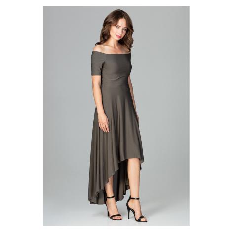 Lenitif Woman's Dress K485 Olive