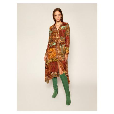 Desigual Sukienka koszulowa Estambul 20WWVW03 Kolorowy Regular Fit
