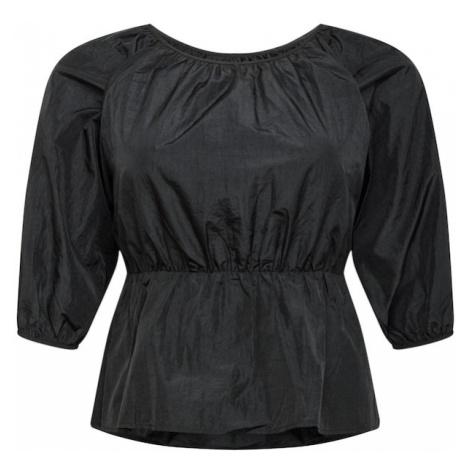 Missguided Plus Bluzka czarny