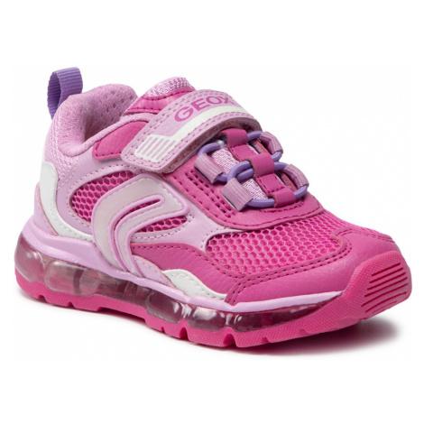 Sneakersy GEOX - J Android G. D J1545D 014BU C8230 M Fuchsia/Pink