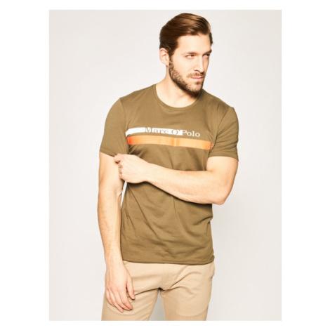 Marc O'Polo T-Shirt 022 2131 51098 Zielony Shaped Fit
