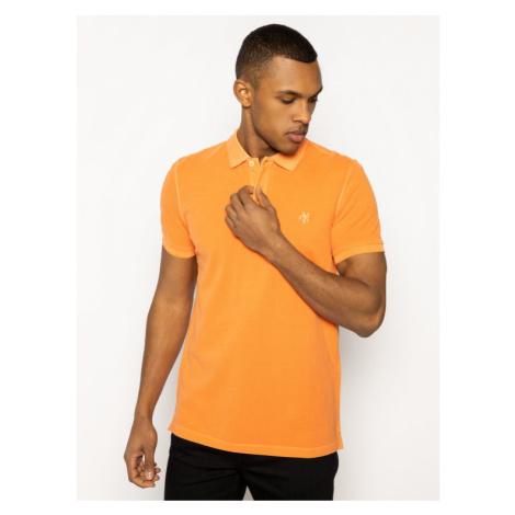 Marc O'Polo Polo M22 2266 53024 Pomarańczowy Regular Fit