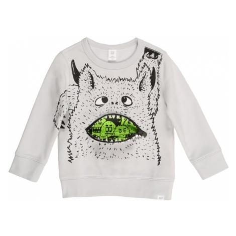 GAP Sweter jasnoszary / jasnozielony / czarny