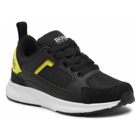 Boss Sneakersy J29243 Czarny Hugo Boss