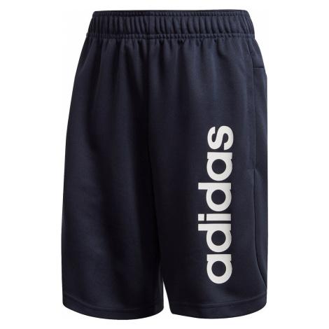 ADIDAS PERFORMANCE Spodnie sportowe biały / ciemny niebieski
