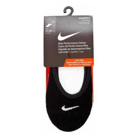 Nike Zestaw 3 par stopek damskich Women's Femme Feminino SX4863 900 Beżowy