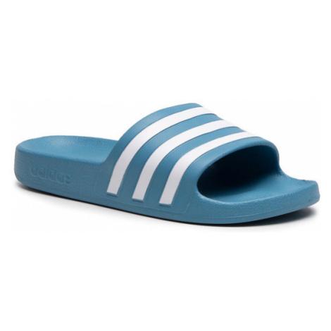Adidas Klapki adilette Aqua FY8100 Niebieski