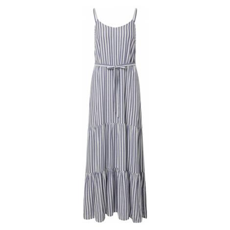 SISTERS POINT Letnia sukienka 'ILVO-ST.DR' biały / niebieski