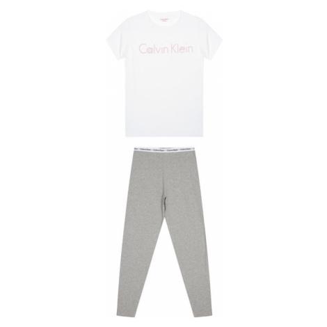 Calvin Klein Underwear Piżama G80G800084 Biały Regular Fit