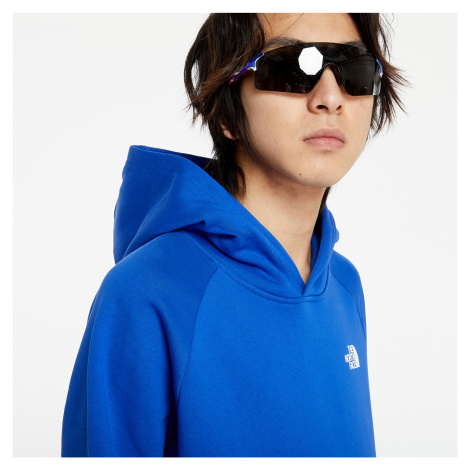 The North Face Reglan Red Box Hoodie Blue