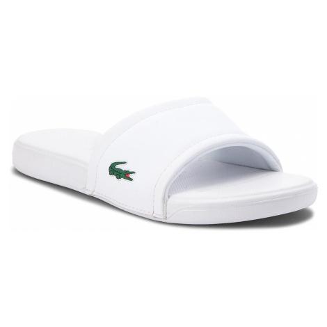 Klapki LACOSTE - L.30 118 1 CAJ 7-35CAJ001121G White/White