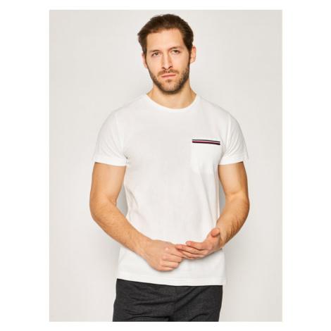 TOMMY HILFIGER T-Shirt Rwb Pocket MW0MW13335 Biały Relax Fit