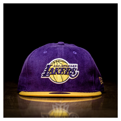 New Era 59Fifty Los Angeles Lakers Full Cap Purple Yellow