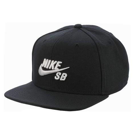 czapka z daszkiem Nike SB Icon Pro - 013/Black/Black/Black/White